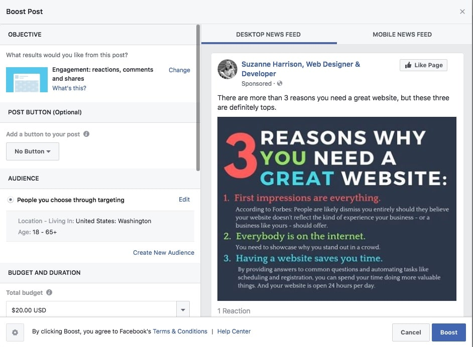How to Boost Your Business with Facebook - Suzanne Harrison
