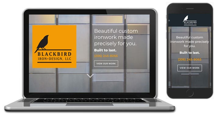 Blackbird Iron WordPress Web Design